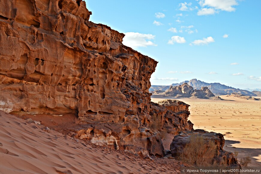 Скалы рельефны. Ветер-скульптор тысячелетиями добивался наилучшего результата.