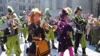 В Швейцарии начался сезон карнавалов