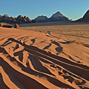 Пустыня Вади-Рам. Кусочек Марса на Земле
