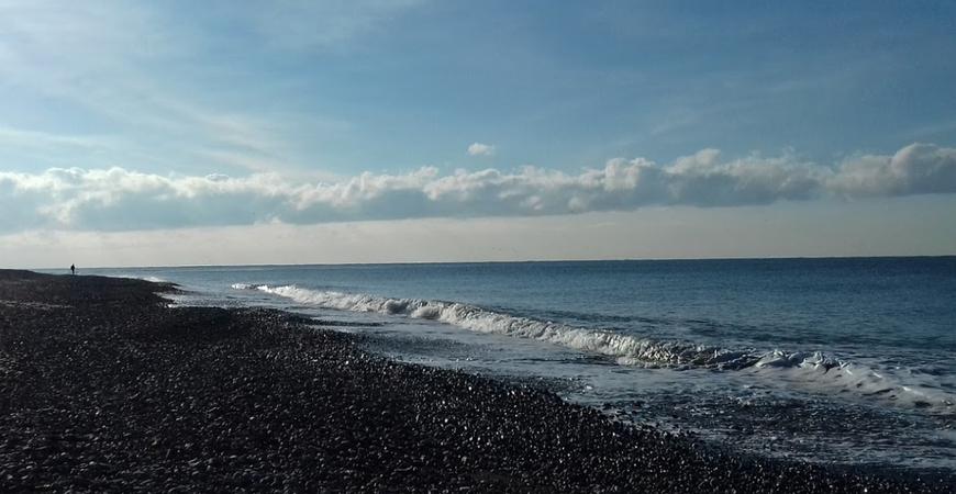 Пляж «Лего» в Адлере (пляж «Мзымта»)