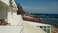 Вид на пляж из номера отеля «Форт Нокс»