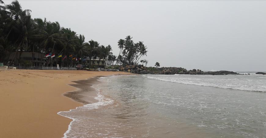Пляж Индурува (Induruwa Beach)