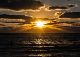 Немного солнца в конце зимы. Израиль