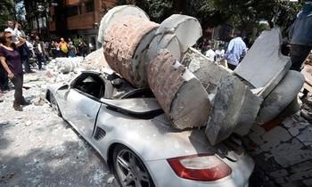 Землетрясения произошли в Мексике и Великобритании
