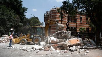 Ещё одно землетрясение произошло в Мексике, введен режим ЧС