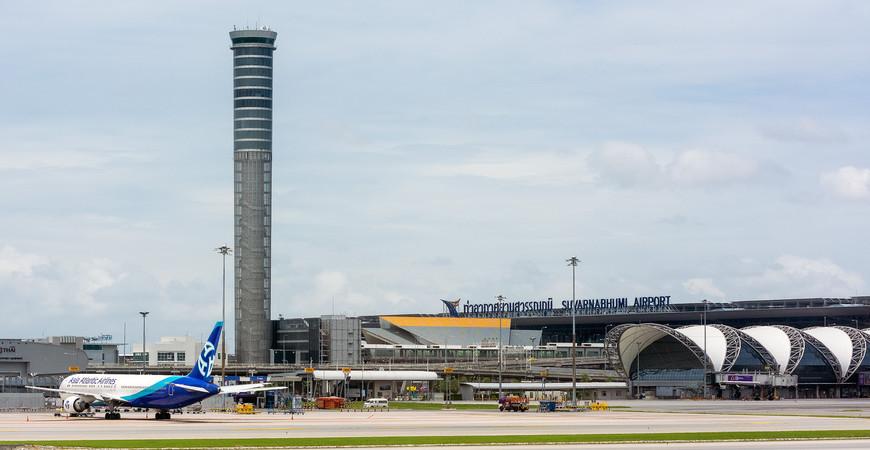 Международный аэропорт «Суварнабхуми» в Бангкоке