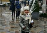 шопинг и снежки