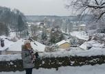 заПарижье в снегу