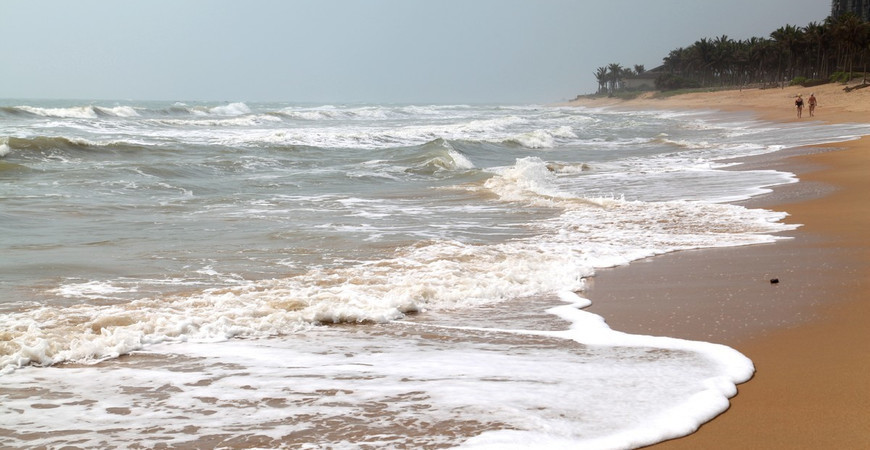 Пляж Нефритовый пояс