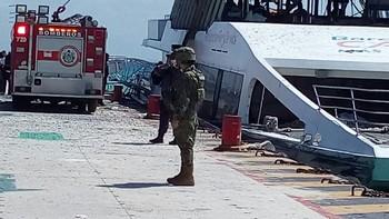 Взрыв на пароме в Мексике: 18 человек ранены