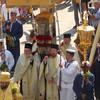 Литания святого Спиридона перед воскресом.