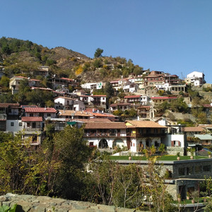 Монастыри и деревушки Троодоса, Кипр