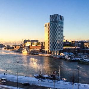 Снег, огни и Хельсинки