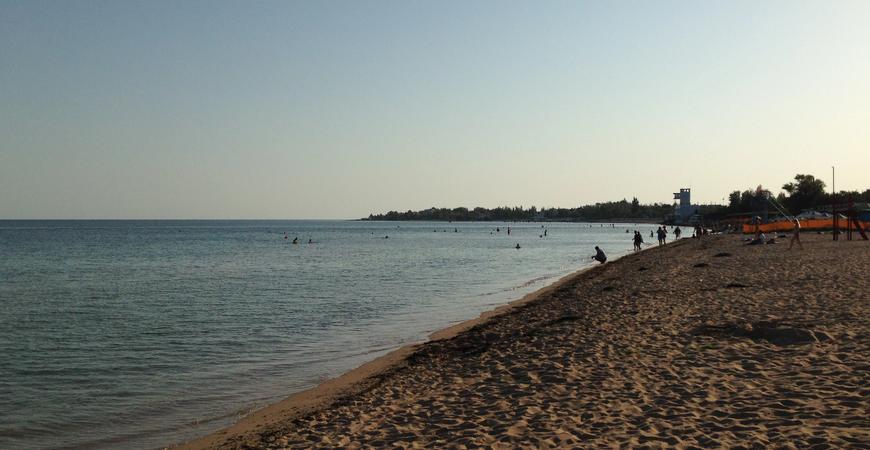 Пляж «Супер Аква» (Лимановка)