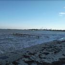 Бетонный пляж