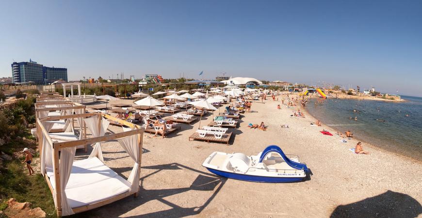 Пляж «Аквамарин»