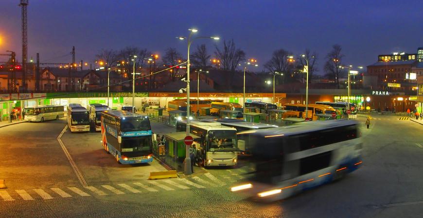 Автовокзал Флоренс, Прага