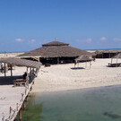 Пляж острова Рас-Эль-Мар