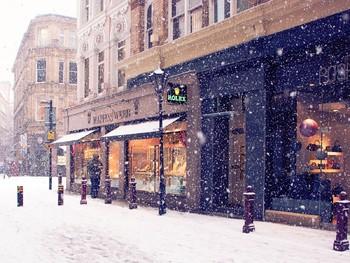 Аэропорты Женевы, Эдинбурга, Глазго и Монпелье не работают из-за снегопада