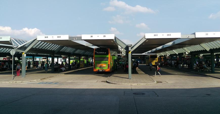 Центральный автовокзал Берлина
