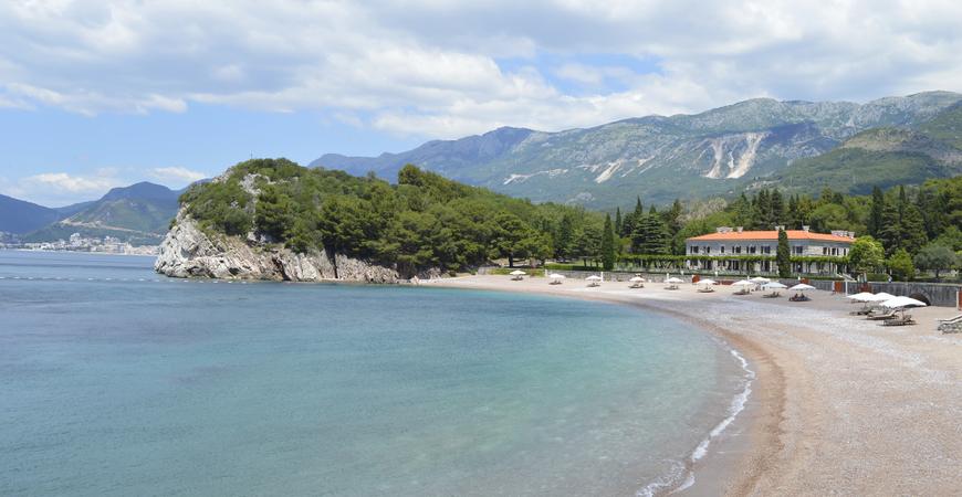 Пляж Милочер в Черногории