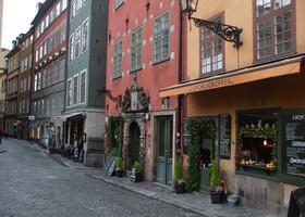 Гуляя по улочкам Стокгольма...