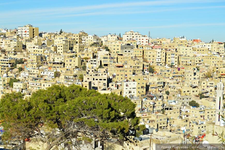 Сегодня в Аммане проживает около трёх с половиной миллионов человек: по полтора миллиона в западной и восточной частях, и около полумиллиона в ближайших окрестностях.