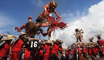 Новый год на Бали: туристов призывают к тишине