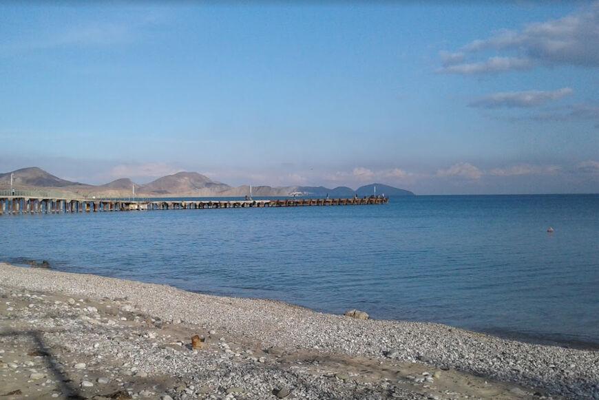 Мальтийский пляж коктебель фото даже обычные