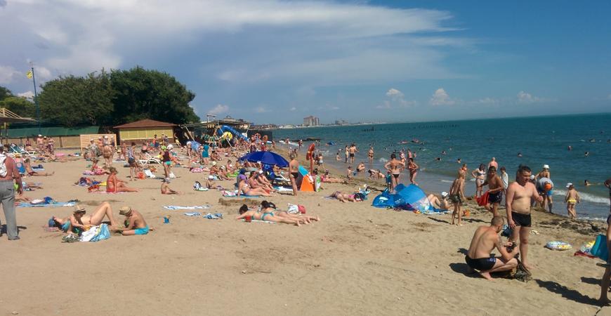 Пляж «Солярис» в Евпатории