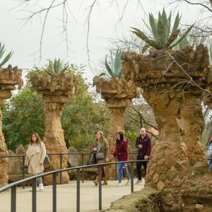 Цветущий Парк Гуэль, Барселона