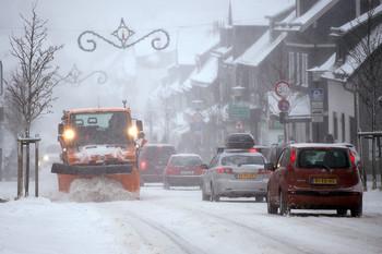 В Европу вновь пришла зима
