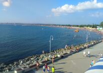 Центральный пляж Анапы