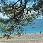 Центральный пляж Пицунды