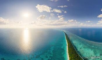 Атоллы и острова Мальдивской Республики