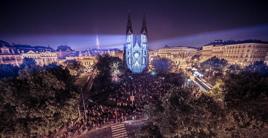 Фестиваль света Signal в Праге