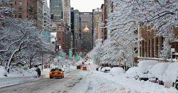 В США отменены три тысячи рейсов из-за снегопада