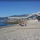 Пляж гостиницы «Ялта – Интурист»