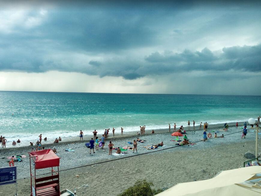 песчаный пляж в лазаревском фото узнал, что