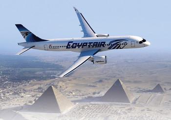 EgyptAir сделает скидки до 50% на билеты первого рейса Каир - Москва