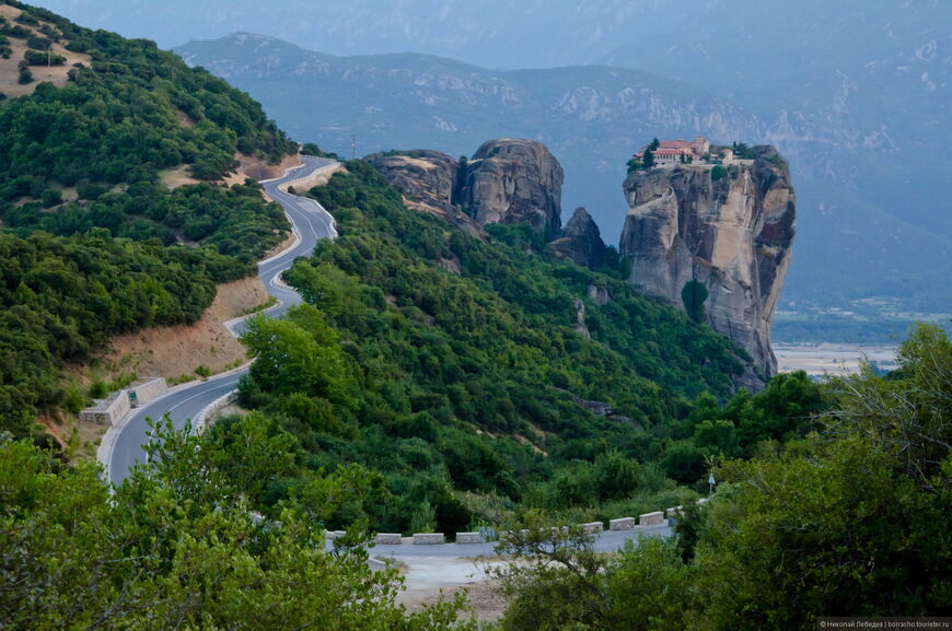 Монастыри в Греции