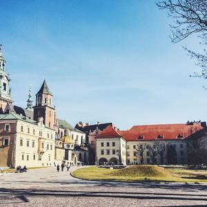 Милый пан Краков и замок Вавель