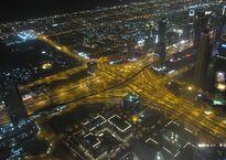 Вид со смотровой площадки Dubai Mall