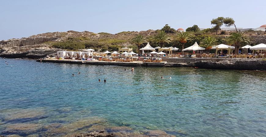 Пляж Калифея на Родосе