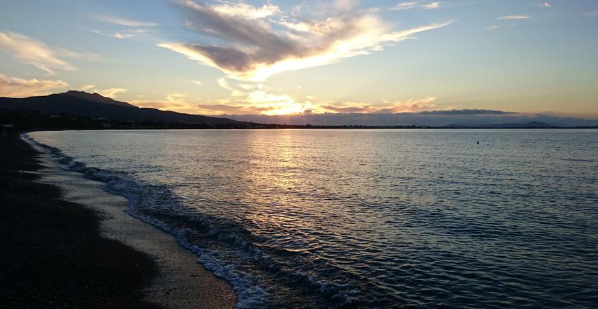 Пляж Псалиди (Psalidi beach)