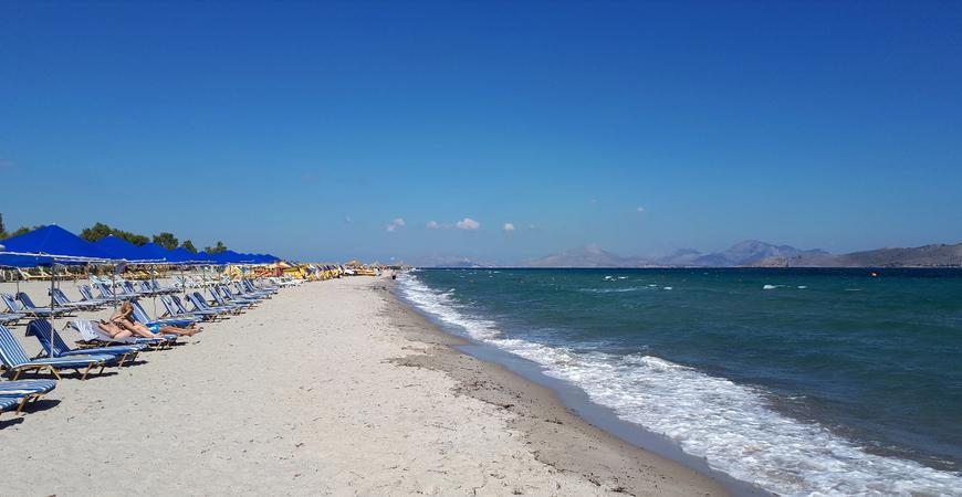 Пляжи Тигаки