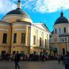 Храм Матроны Московской Покровского монастыря