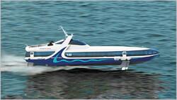 Первая «Комета» для скоростных перевозок по Крыму спущена на воду