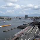 Круизный порт Амстердама Харлеммербюрт