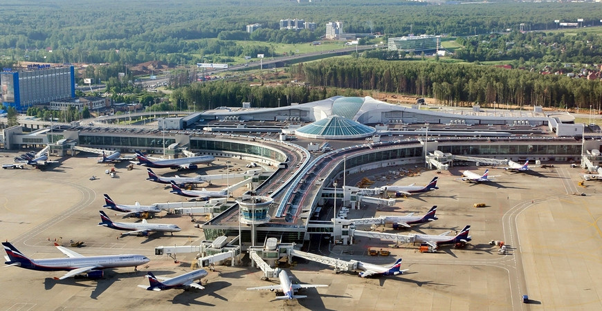Аэропорт Москвы «Шереметьево» имени Александра Пушкина